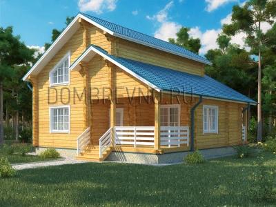 Дом из бруса №112 Лада