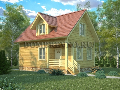 Дом из бруса №128 Герольд