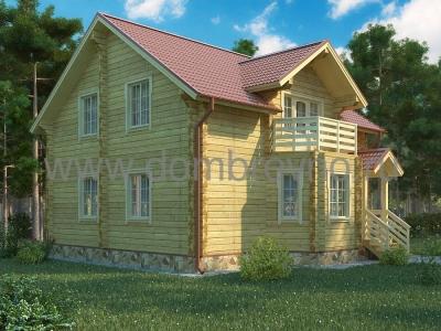 Дом из бруса №103 Элиот