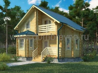 Дом из бруса №106 Задор