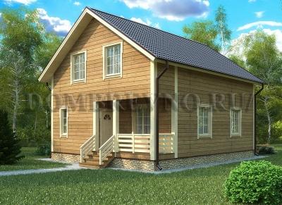 Дом из бруса №115 Эмбир
