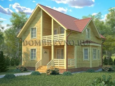 Дом из бруса №150 Бастион