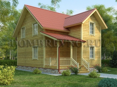 Дом из бруса №160 Тенор