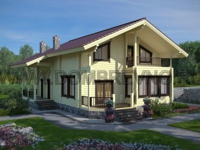 Дом из бруса №182 Лоза