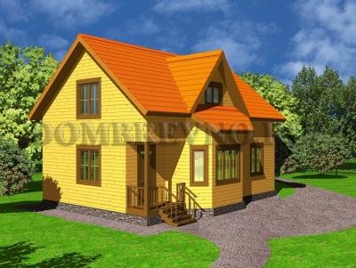 Дом из бруса №130 Клонтос