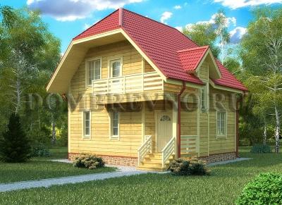 Дом из бруса №133 Анна